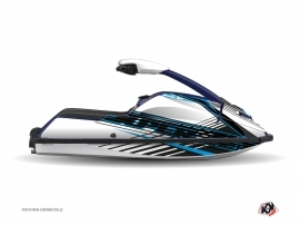 Yamaha Superjet Jet-Ski Flow Graphic Kit Blue