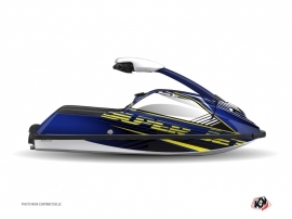 Yamaha Superjet Jet-Ski Flow Graphic Kit Yellow