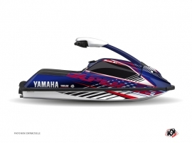 Kit Déco Jet Ski Flow Yamaha Superjet Rouge