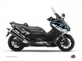 Kit Déco Maxiscooter Flow Yamaha TMAX 500 Bleu