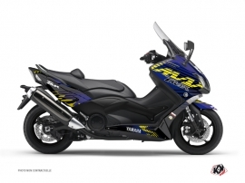 Kit Déco Maxiscooter Flow Yamaha TMAX 500 Jaune