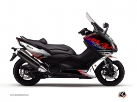 Kit Déco Maxiscooter Flow Yamaha TMAX 500 Rouge