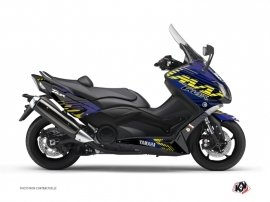 Yamaha TMAX 530 Maxiscooter Flow Graphic Kit Yellow