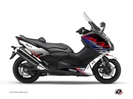 Yamaha TMAX 530 Maxiscooter Flow Graphic Kit Red