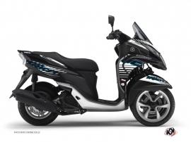 Kit Déco Maxiscooter Flow Yamaha Tricity Bleu