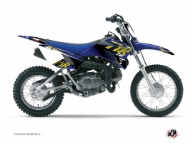 Kit Déco Moto Cross FLOW Yamaha TTR 110 Jaune