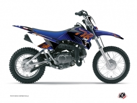 Kit Déco Moto Cross Flow Yamaha TTR 110 Orange