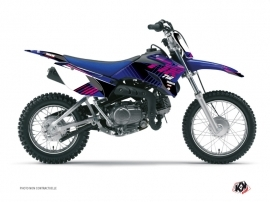 Kit Déco Moto Cross FLOW Yamaha TTR 110 Rose
