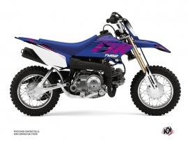 Kit Déco Moto Cross Flow Yamaha TTR 50 Rose