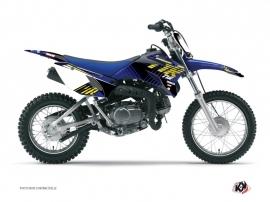 Kit Déco Moto Cross Flow Yamaha TTR 90 Jaune