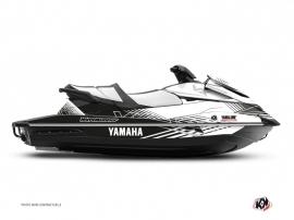 Kit Déco Jet-Ski Flow Yamaha VX Blanc Noir