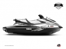 Kit Déco Jet-Ski FLOW Yamaha VX Blanc Noir LIGHT