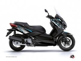 Kit Déco Maxiscooter Flow Yamaha XMAX 125 Bleu