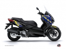 Yamaha XMAX 400 Maxiscooter Flow Graphic Kit Yellow