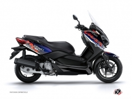 Kit Déco Maxiscooter FLOW Yamaha XMAX 400 Rouge