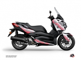 Yamaha XMAX 400 Maxiscooter Flow Graphic Kit Red
