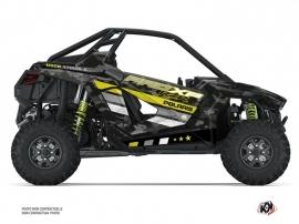 Kit Déco SSV Force Polaris RZR PRO XP Noir Vert Neon