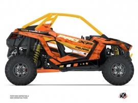 Polaris RZR PRO XP UTV Force Graphic Kit Orange
