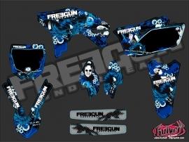 Yamaha 250 YZF Dirt Bike Freegun Graphic Kit