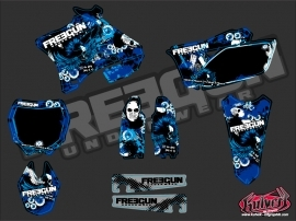 Yamaha 250 YZ Dirt Bike Freegun Graphic Kit