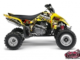 Suzuki 450 LTR ATV Freegun Graphic Kit