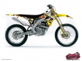 Suzuki 450 RMX Dirt Bike Freegun Graphic Kit