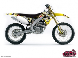 Suzuki 450 RMZ Dirt Bike Freegun Graphic Kit