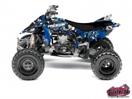 Yamaha 450 YFZ R ATV Freegun Graphic Kit Blue