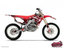 Honda 85 CR Dirt Bike Freegun Graphic Kit