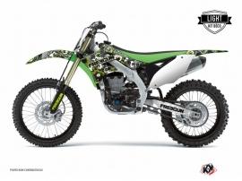 Kit Déco Moto Cross Freegun Eyed Kawasaki 250 KX Vert LIGHT