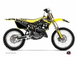 Kit Déco Moto Cross Freegun Eyed Suzuki 125 RM Jaune