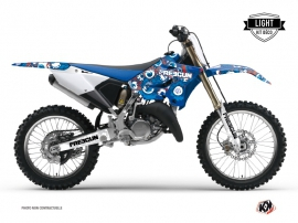 Kit Déco Moto Cross Freegun Eyed Yamaha 250 YZ Rouge LIGHT
