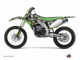 Kawasaki 250 KX Dirt Bike Freegun Eyed Graphic Kit Green
