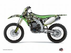 Kit Déco Moto Cross Freegun Eyed Kawasaki 250 KX Vert