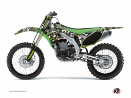 Kawasaki 250 KXF Dirt Bike Freegun Eyed Graphic Kit Green