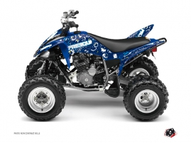 Kit Déco Quad Freegun Eyed Yamaha 250 Raptor Bleu