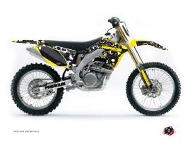 Kit Déco Moto Cross Freegun Eyed Suzuki 250 RMZ Jaune