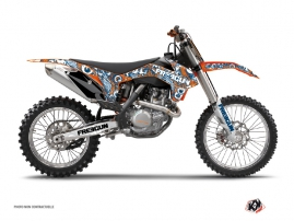 Kit Déco Moto Cross Freegun Eyed KTM 250 SX Orange