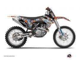 Kit Déco Moto Cross Freegun Eyed KTM 250 SX Orange