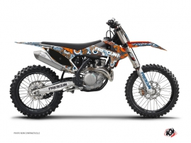 KTM 250 SXF Dirt Bike FREEGUN Graphic kit Orange