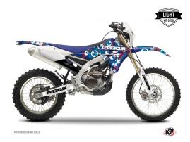 Kit Déco Moto Cross Freegun Eyed Yamaha 250 WRF Rouge LIGHT