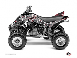 Kit Déco Quad Freegun Yamaha 350 Raptor Rouge