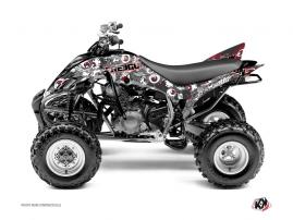 Kit Déco Quad Freegun Eyed Yamaha 350 Raptor Rouge