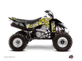 Suzuki 400 LTZ IE ATV Freegun Eyed Graphic Kit Yellow