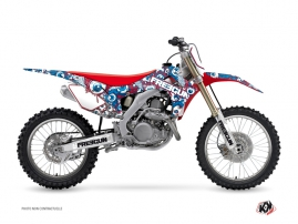 Kit Déco Moto Cross Freegun Eyed Honda 450 CRF Rouge