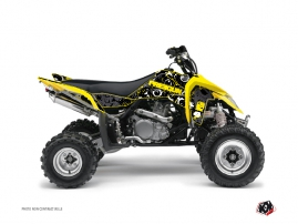 Suzuki 450 LTR ATV Freegun Eyed Graphic Kit Yellow