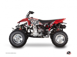 Kit Déco Quad Freegun Eyed Polaris Outlaw 450 Gris Rouge