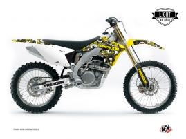 Kit Déco Moto Cross FREEGUN Suzuki 450 RMZ Jaune LIGHT