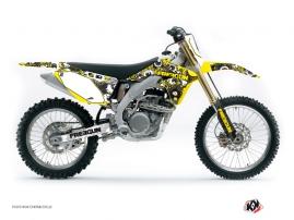 Kit Déco Moto Cross FREEGUN Suzuki 450 RMZ Jaune