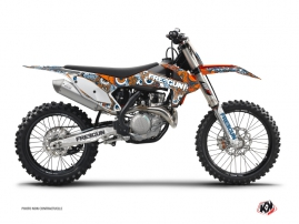 Kit Déco Moto Cross Freegun KTM 450 SXF Orange